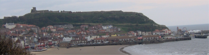 The beautiful town of Scarborough